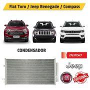 Condensador Fiat Toro / Jeep Renegade / Compass BC261430-0720RC - Denso