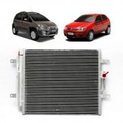 Condensador Ar Condicionado  Fiat 1.8 8v  16v  Palio, Strada, Idea Denso
