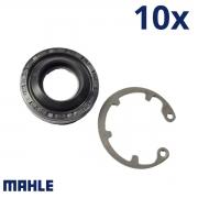 KIT 10X Reparo Selo Retentor Compressor Gm E Fiat Acpx 9 - Mahle