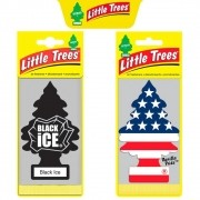Kit Aromatizador Vanilla Pride + Black Ice - Little Trees