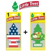 Kit Aromatizador Vanilla Pride + Green Apple - Little Trees