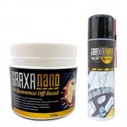 Kit Graxa Nano Ivory 2 300ml + Nano Graxa Off Road 500g