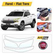 Pelicula Escudo Invisível Farol Fiat Toro - Antichip