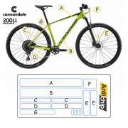 Película Fosca Protetora de Pintura Bicicleta Cannondale FSI - Antichip