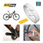 Película PPF Protetora de Pintura Bicicleta Universal Rolo 3,6m x 2,5 cm - Antichip