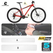 Película Protetora de Pintura Bicicleta Cannondale FSI - Antichip
