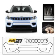 Película Protetora de Pintura Para-Choque Frontal Jeep Compass - Antichip