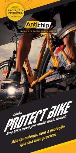 Película Protetora de Pintura Bicicleta Uretano Universal - Antichip