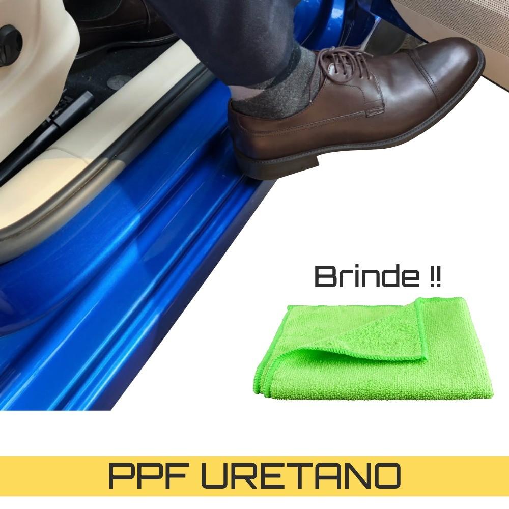 Adesivo Película Automotiva protetora de pintura Soleira Carro Universal Antichip