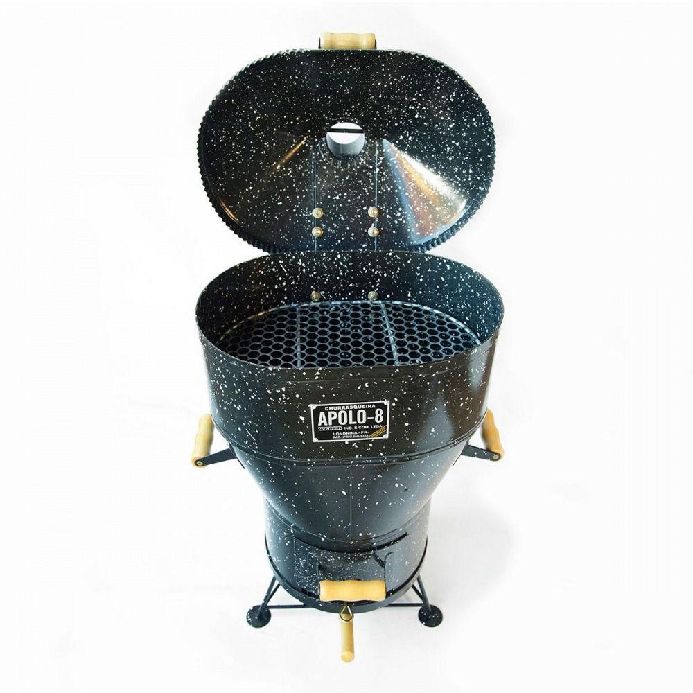 Churrasqueira a Bafo Apolo 8 Esmaltada