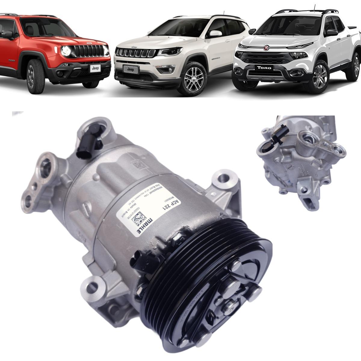 Compressor Ar Condicionado Fiat Toro E Jeep Renegade Compass ACP221 - MAHLE