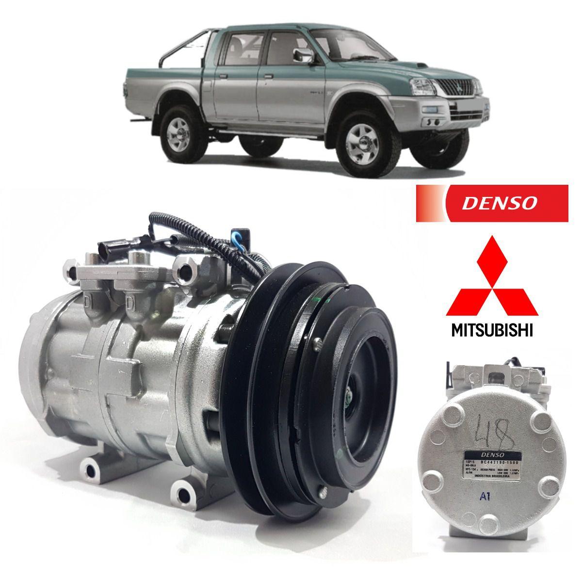 Compressor 10p5 Passante Polia 1A BC447190-1580RC - Denso