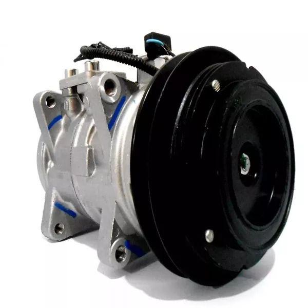 Compressor Universal 10P15 - 8 Orelha - Canal A - 12v com E/M - Denso