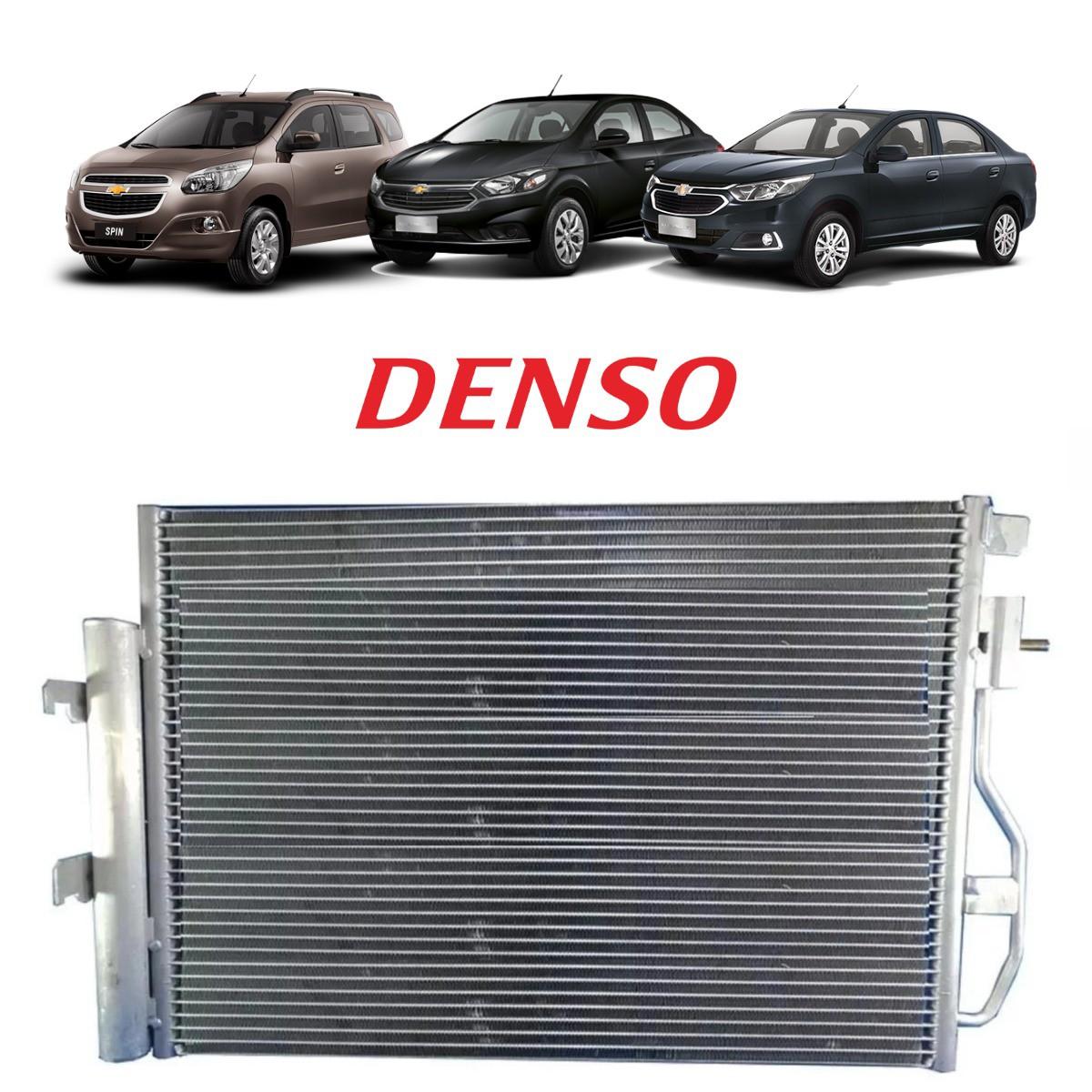 Condensador Chevrolet Onix / Prisma 2017/18 - Denso Original