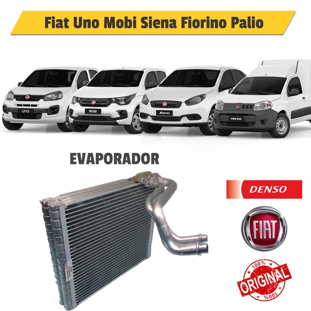 Evaporador Fiat Grand Siena, Mobi, Novo Palio, Fiorino Mod BC446010-6660RC - Denso