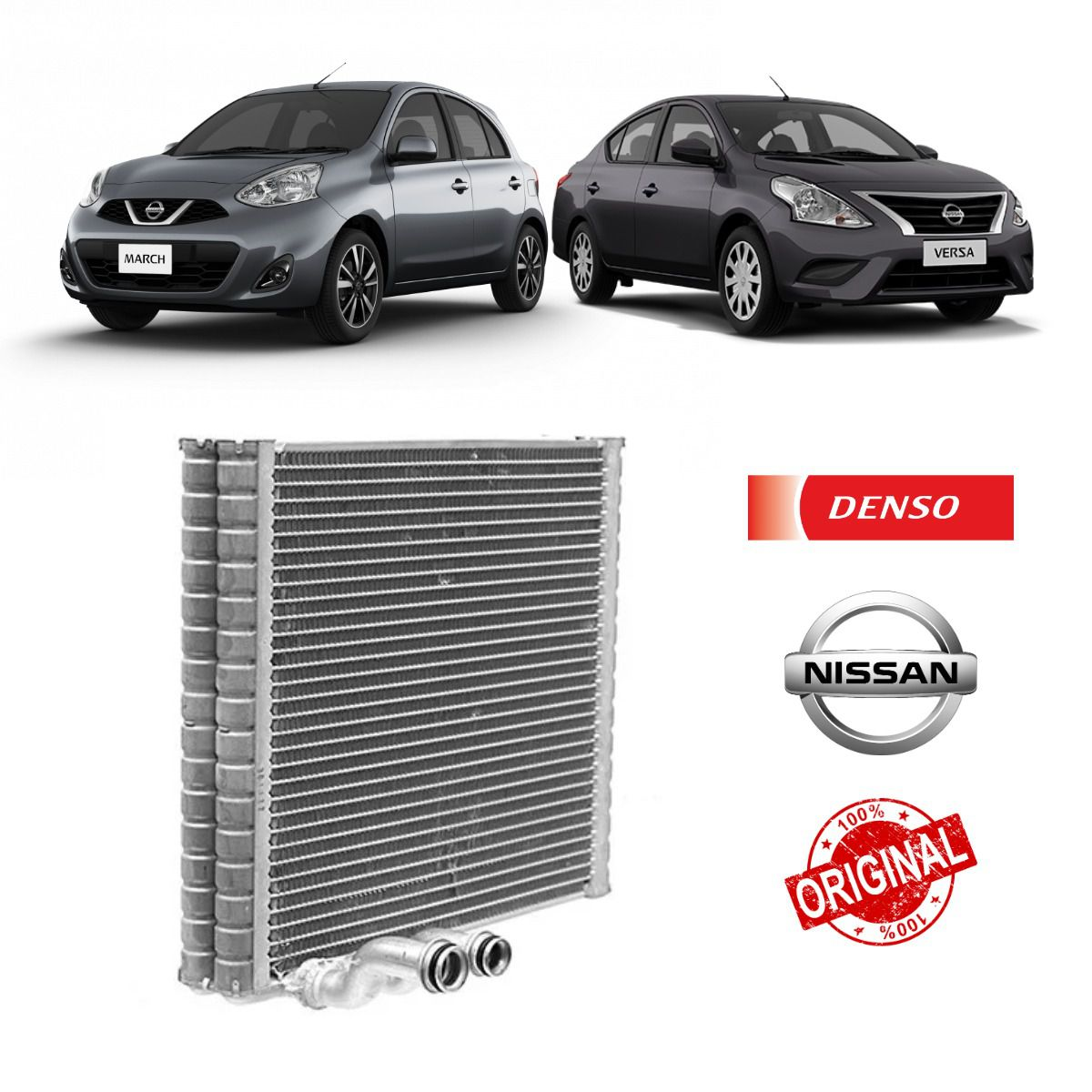 Evaporador Nissan March, Versa BC447610-7951RC - Denso