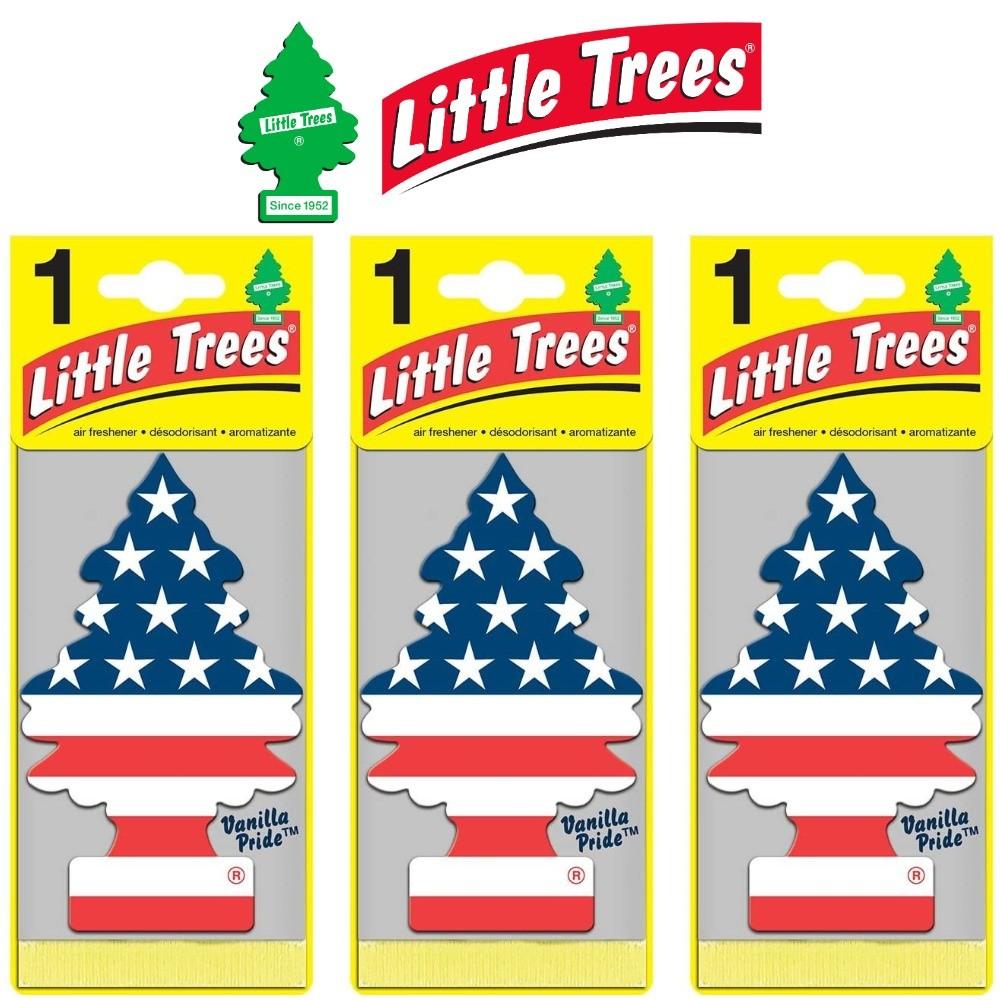 Kit Aromatizador 3 Vanilla Pride - Little Trees