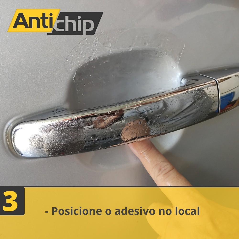 Kit Película PPF Protetor de Maçaneta + Canto de Porta Antichip - Nissan Kicks