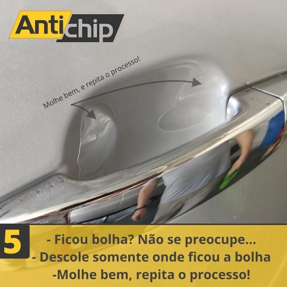Kit Película PPF Protetor de Maçaneta + Canto de Porta + Soleira Antichip - Novo Onix
