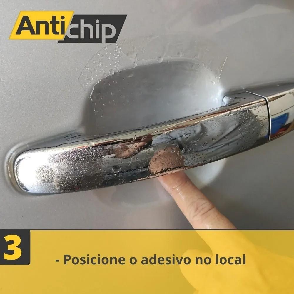 Kit Película PPF Protetor de Maçaneta + Canto de Porta + Soleira Antichip - XC90