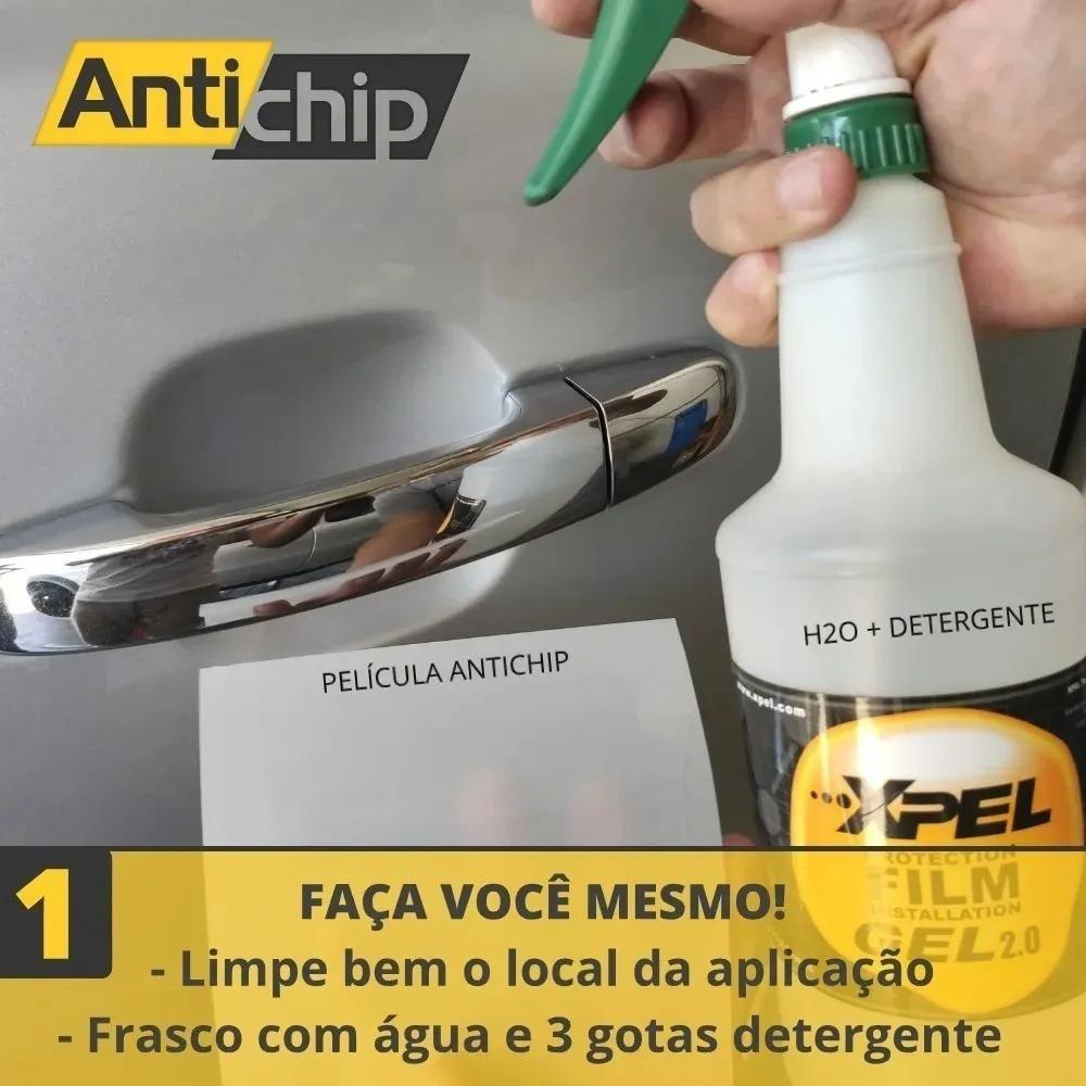 Kit Pelicula Proteção Maçaneta + Soleira + Novo Onix - PPF Uretano