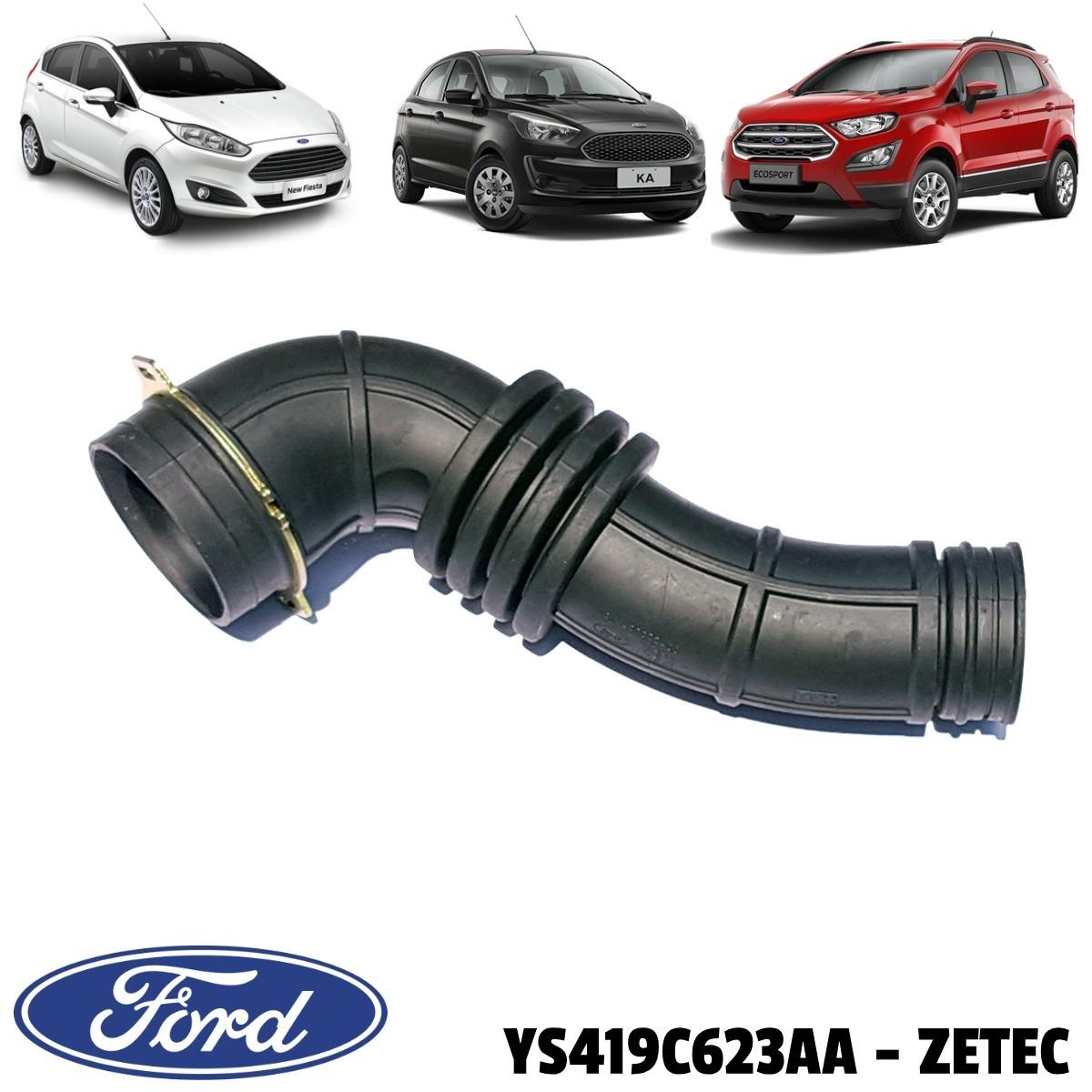 Mangueira do Filtro de Ar Ford Zetec  Rocam 1,6 8V YS419C623AA - Original