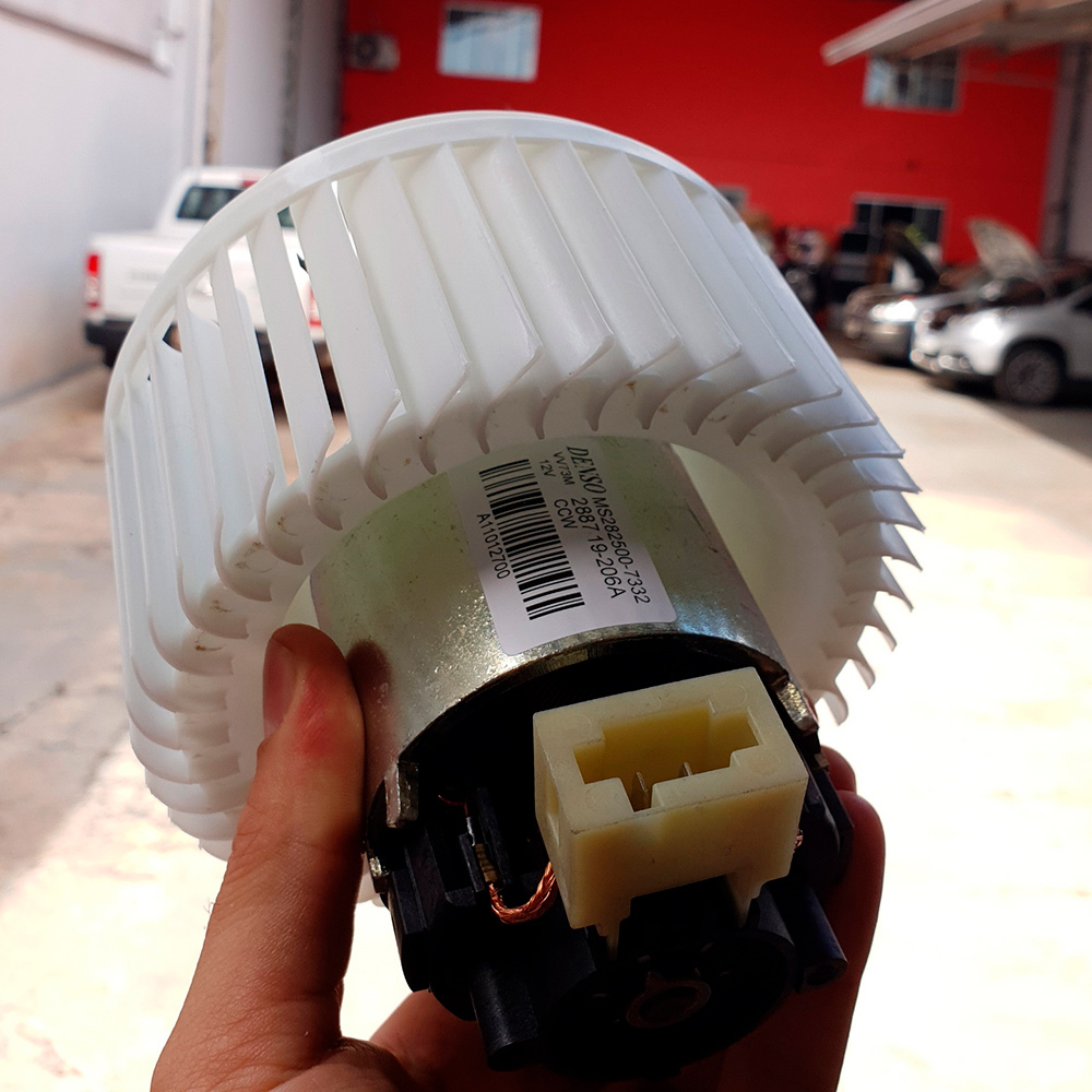 Motor Ventilador BC140200-5250RC somente o Motor Fiat Línea (2009-2015) ou Punto (2008-2015)