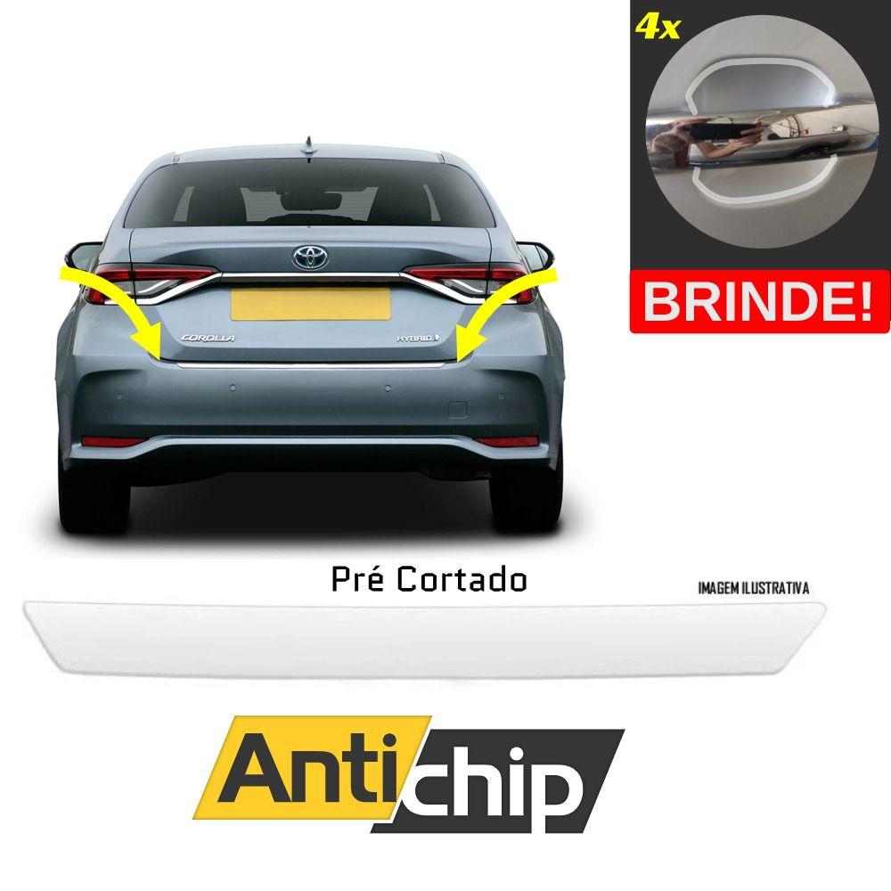 Película Automotiva PPF Protetor de Porta Malas Corolla + Brinde