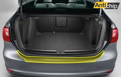 Película Automotiva PPF Protetor de Porta Malas Jetta 2020 + Brinde