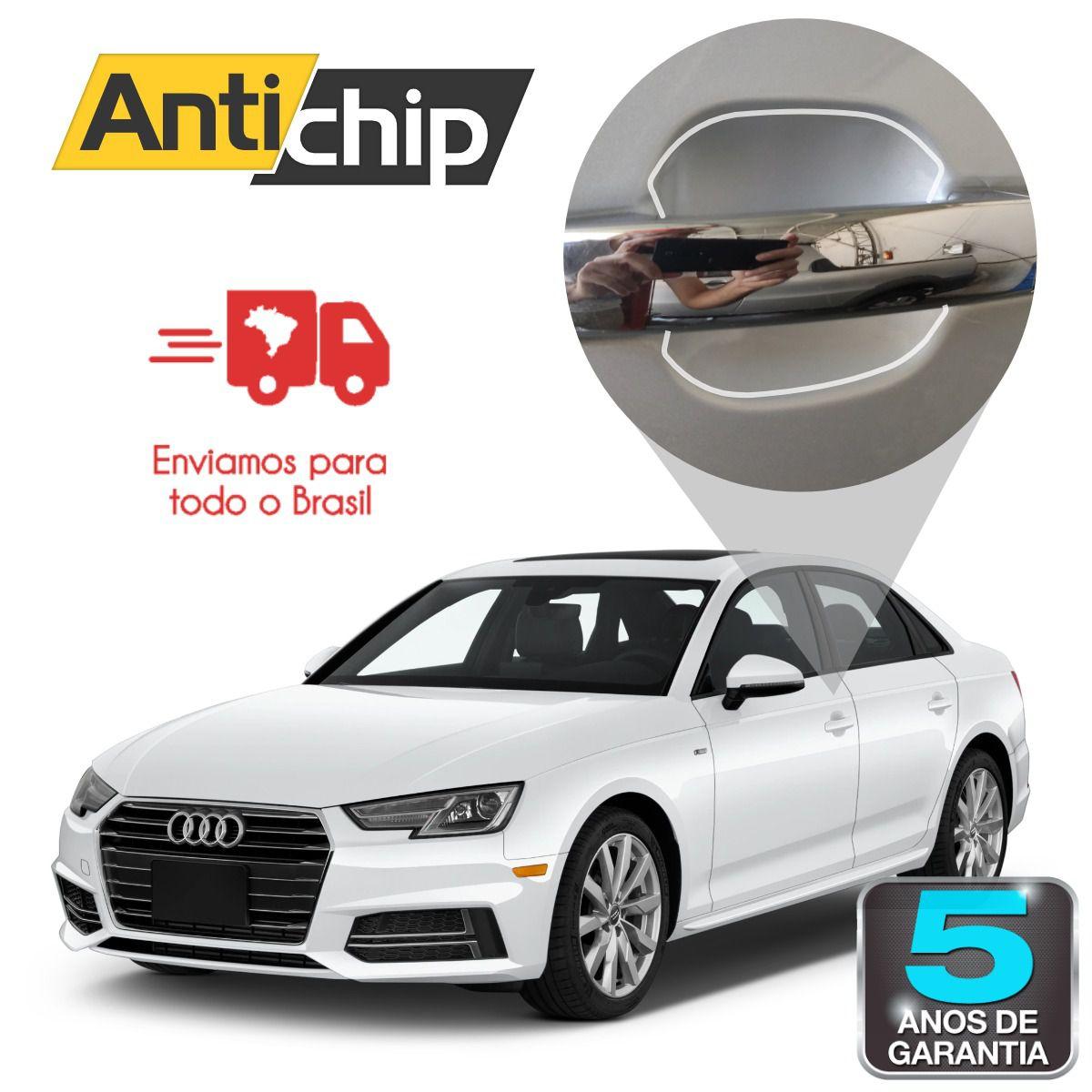 Película PPF Protetora de Pintura Copa Maçaneta Antichip - Audi A4