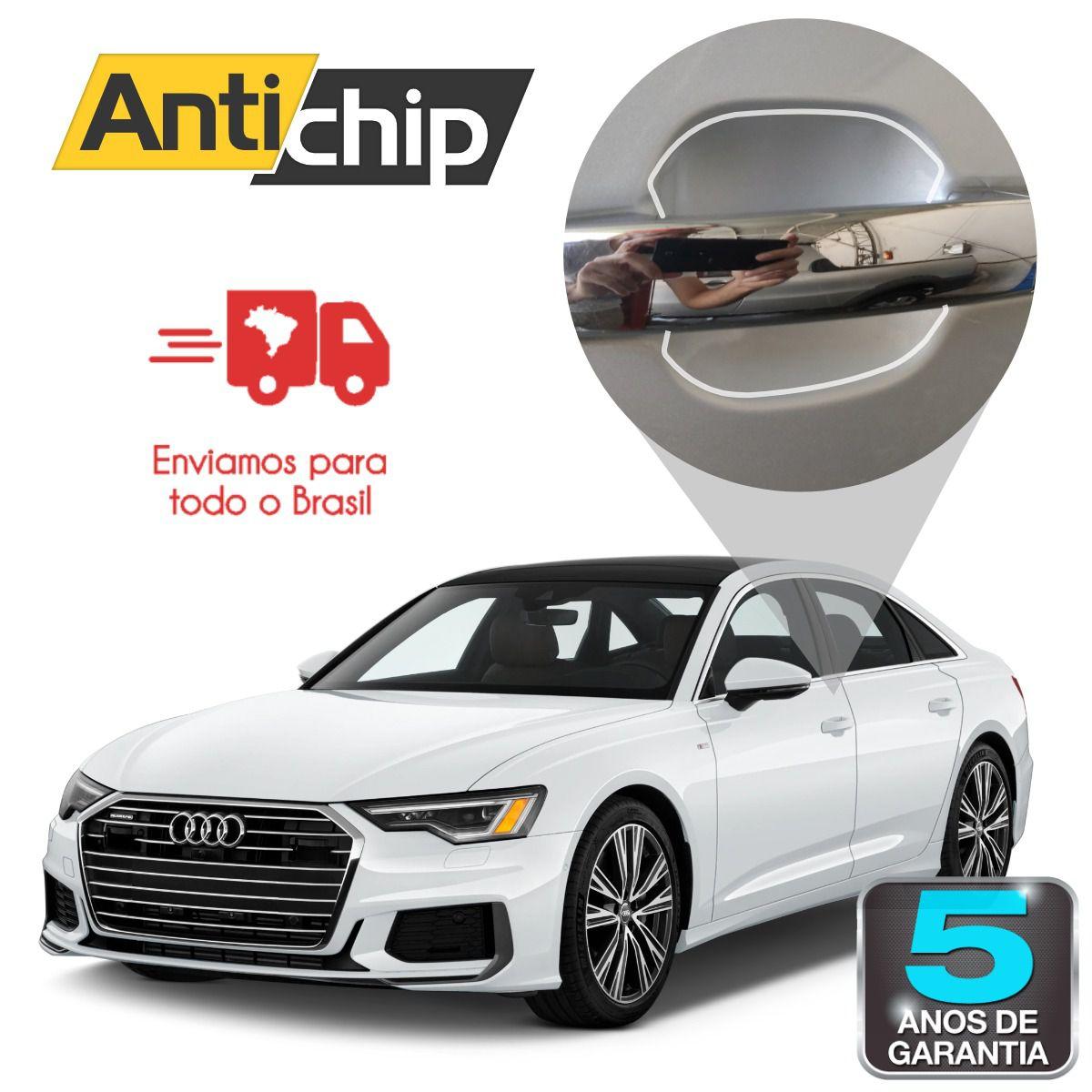 Película PPF Protetora de Pintura Copa Maçaneta Antichip - Audi A6