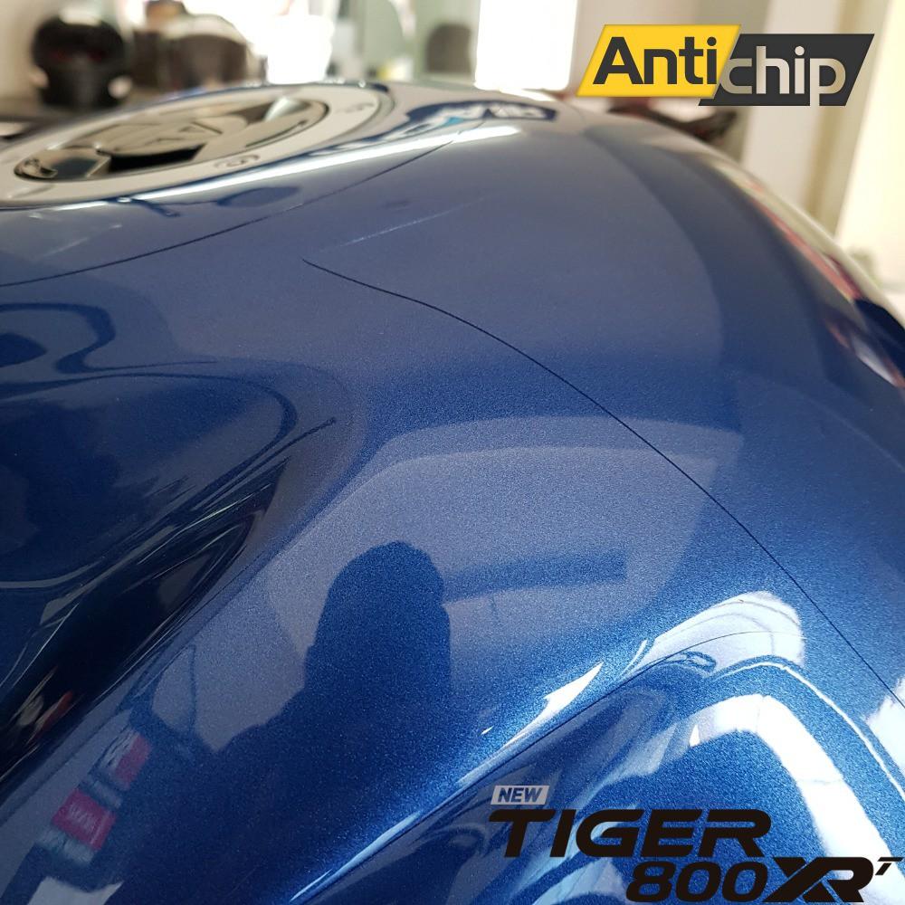 Película PPF Protetora de Pintura Tanque Triumph Tiger 800 XR 2020 - Antichip