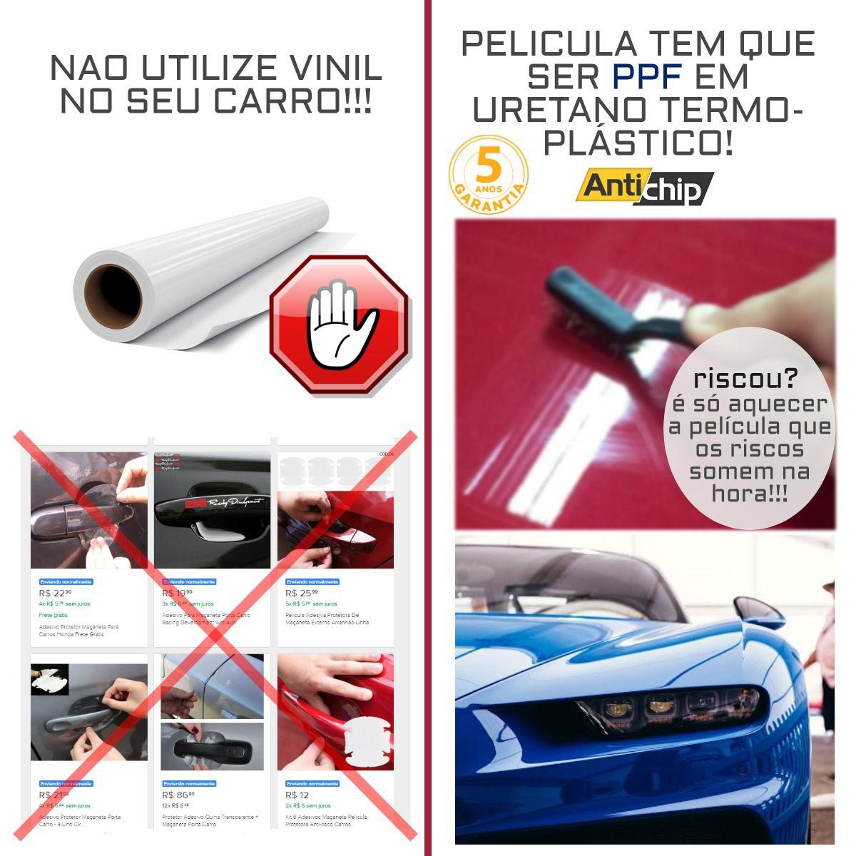 Pelicula Proteção Maçaneta Chevrolet Cruze - Antichip