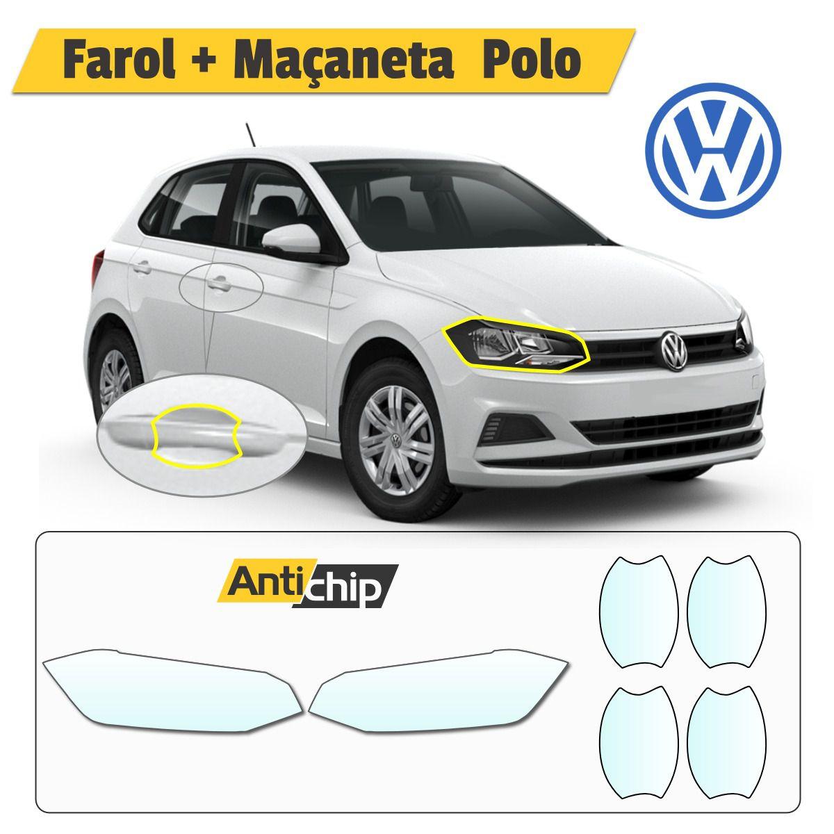 Película Protetora de Farol + Maçaneta Volkswagen Polo - Antichip