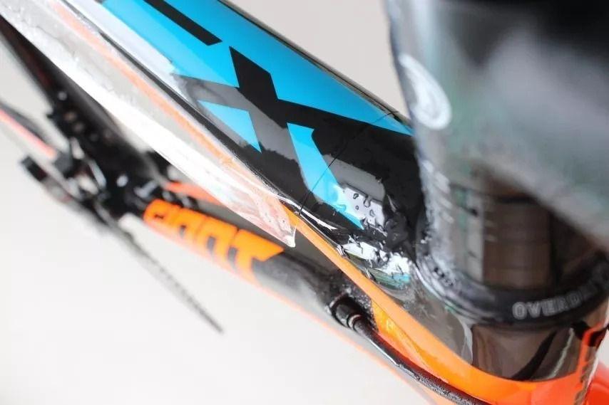 Película Protetora de Pintura Bicicleta Trek X-Caliber 355 Micr - Antichip