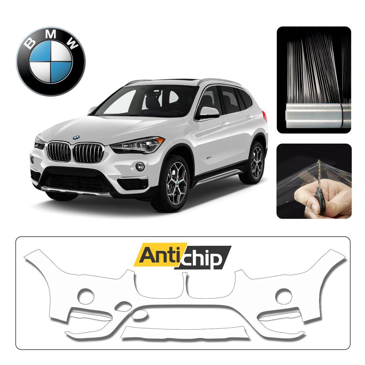 Película Protetora de Pintura Para-Choque BMW X1 2019 - Antichip