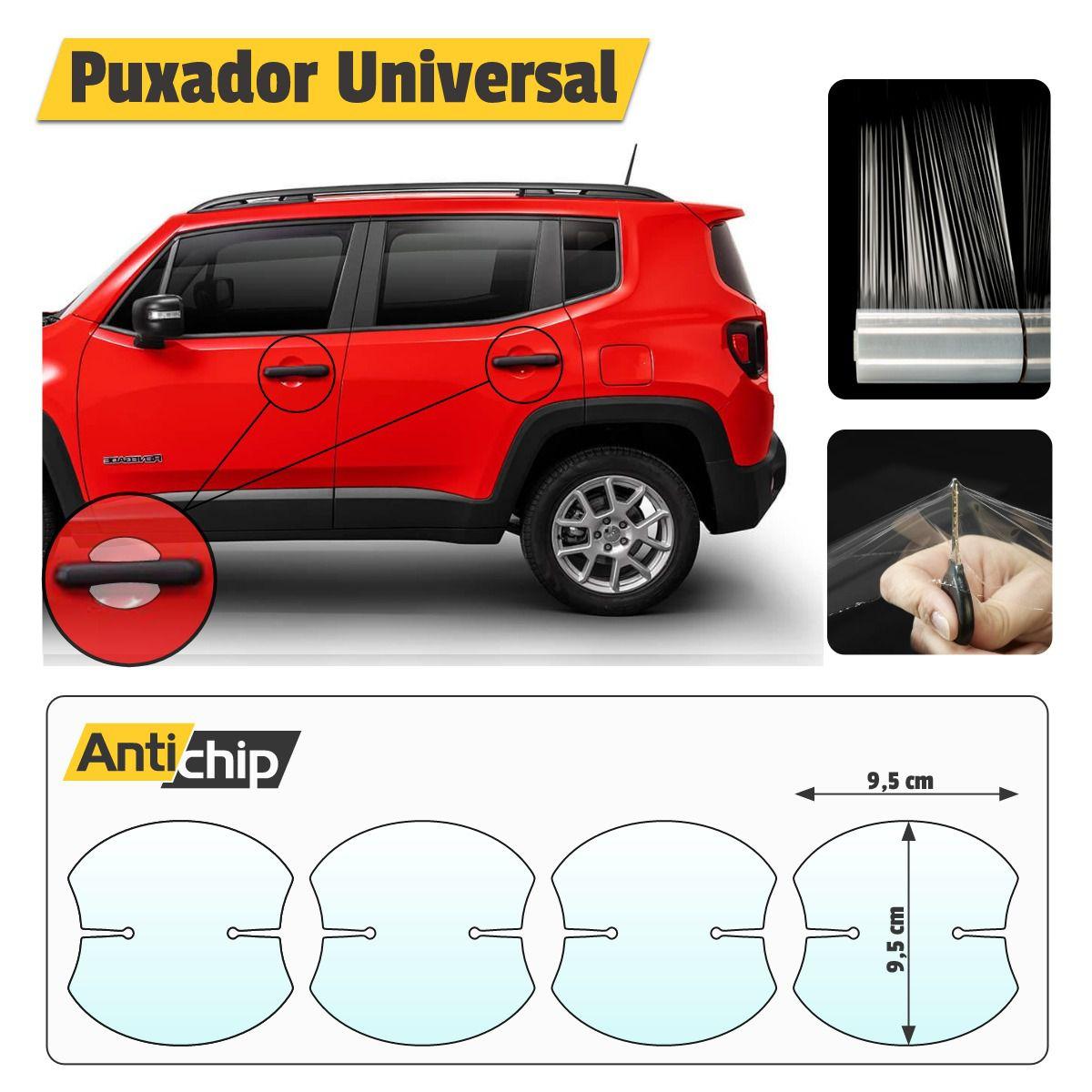 Película Uretano Protetora Maçaneta / Puxador Carro Universal AC0003 - Antichip  - Autoair