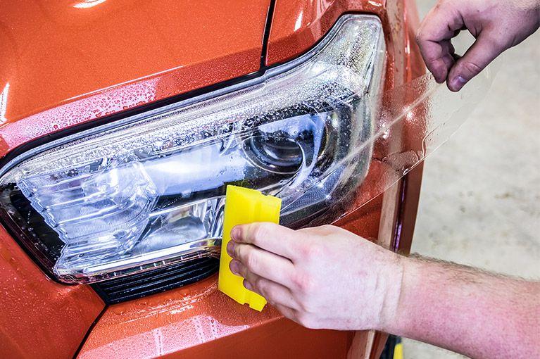 Plícula Protetora de Farol Completo Volkswagen Polo - Antichip