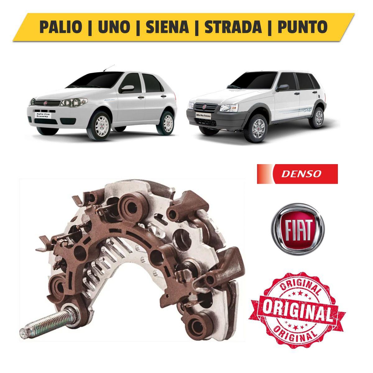 Ponte Retificadora Fiat Motor Fire 1.0 e 1.4 2009-17 - Denso