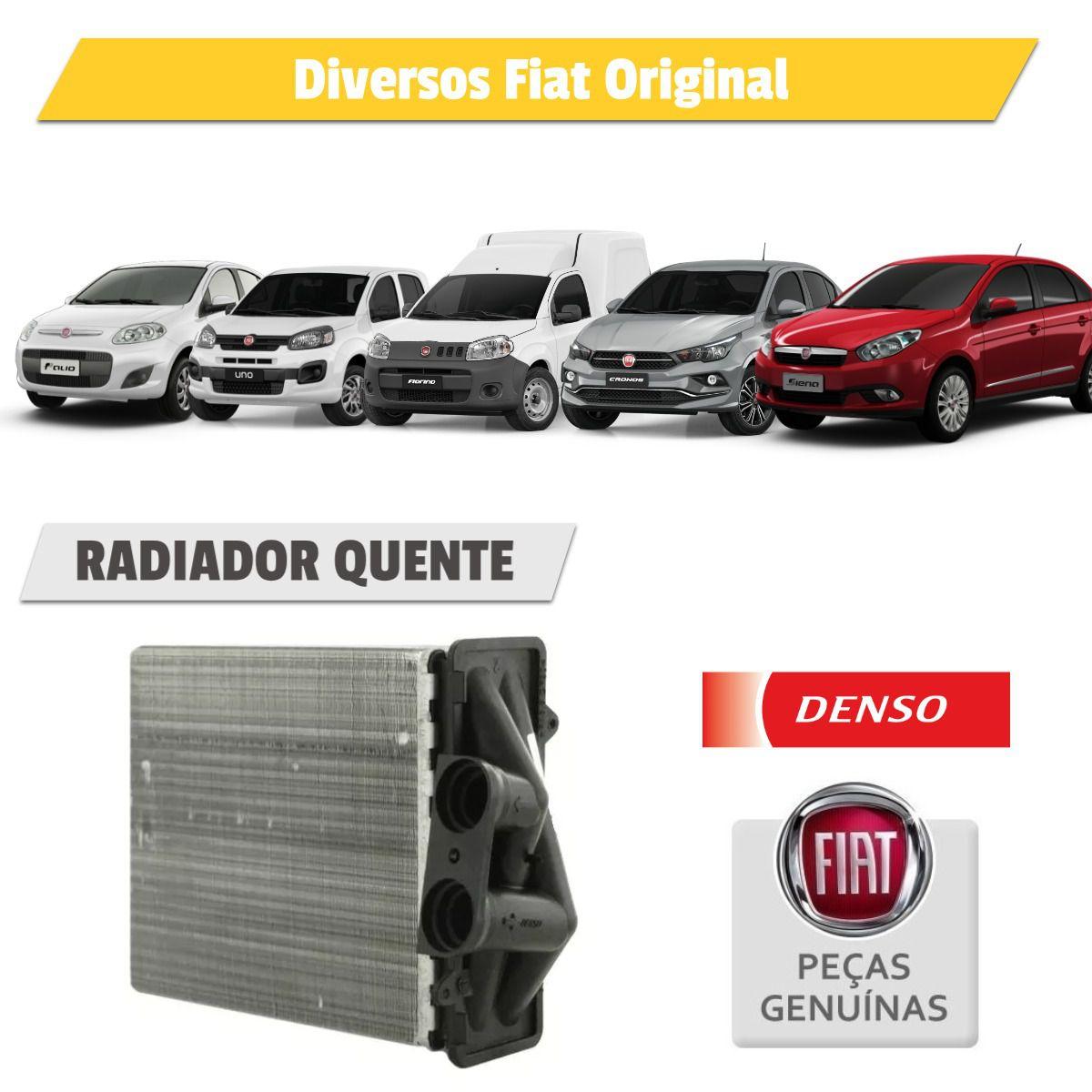 Radiador Ar Quente Fiat Argo, Cronos, Fiorino, Grand Siena, Palio E Uno - Denso  - Autoair