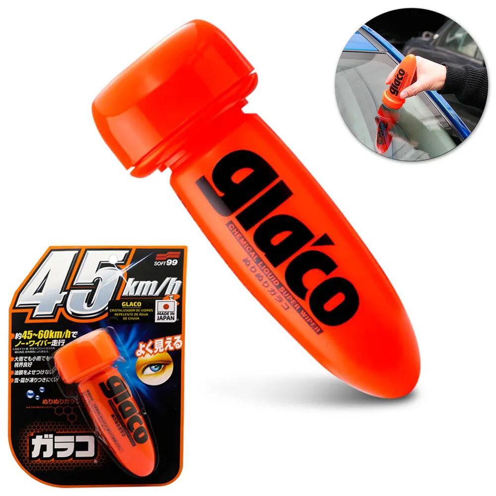 Repelente De Água Para Vidros Parabrisas Soft99 Glaco 75 ml Dura 2 meses Rende Até 18 Parabrisas