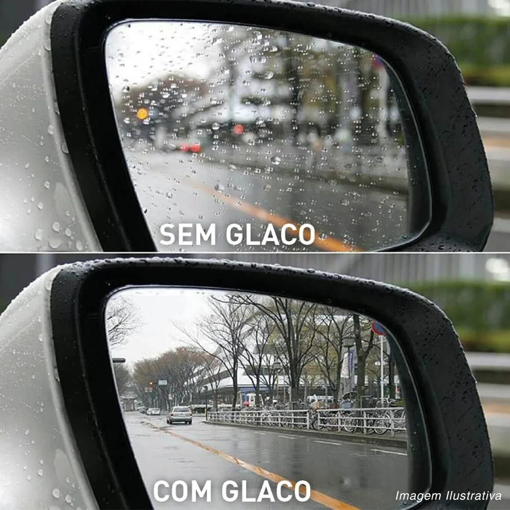 Repelente De Água Retrovisor E Câmera De Ré Soft99 Glaco Zero 40ml Dura 2Meses Rende 10 Retrovisores
