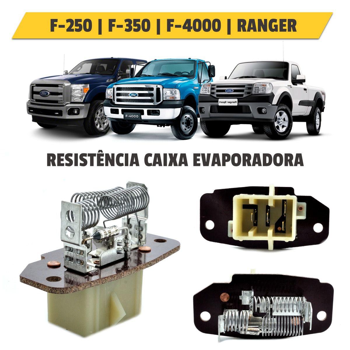 Resistência da Caixa Evaporadora Ford F-250, F350, F4000, Ranger - 420038