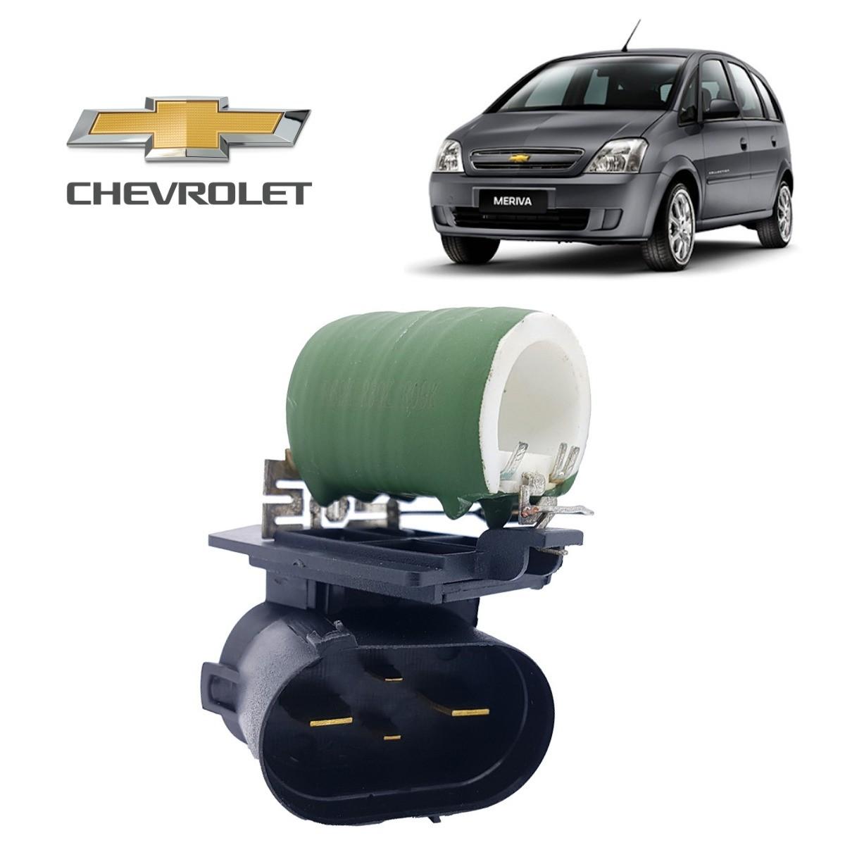 Resistência do Eletroventilador Chevrolet Meriva