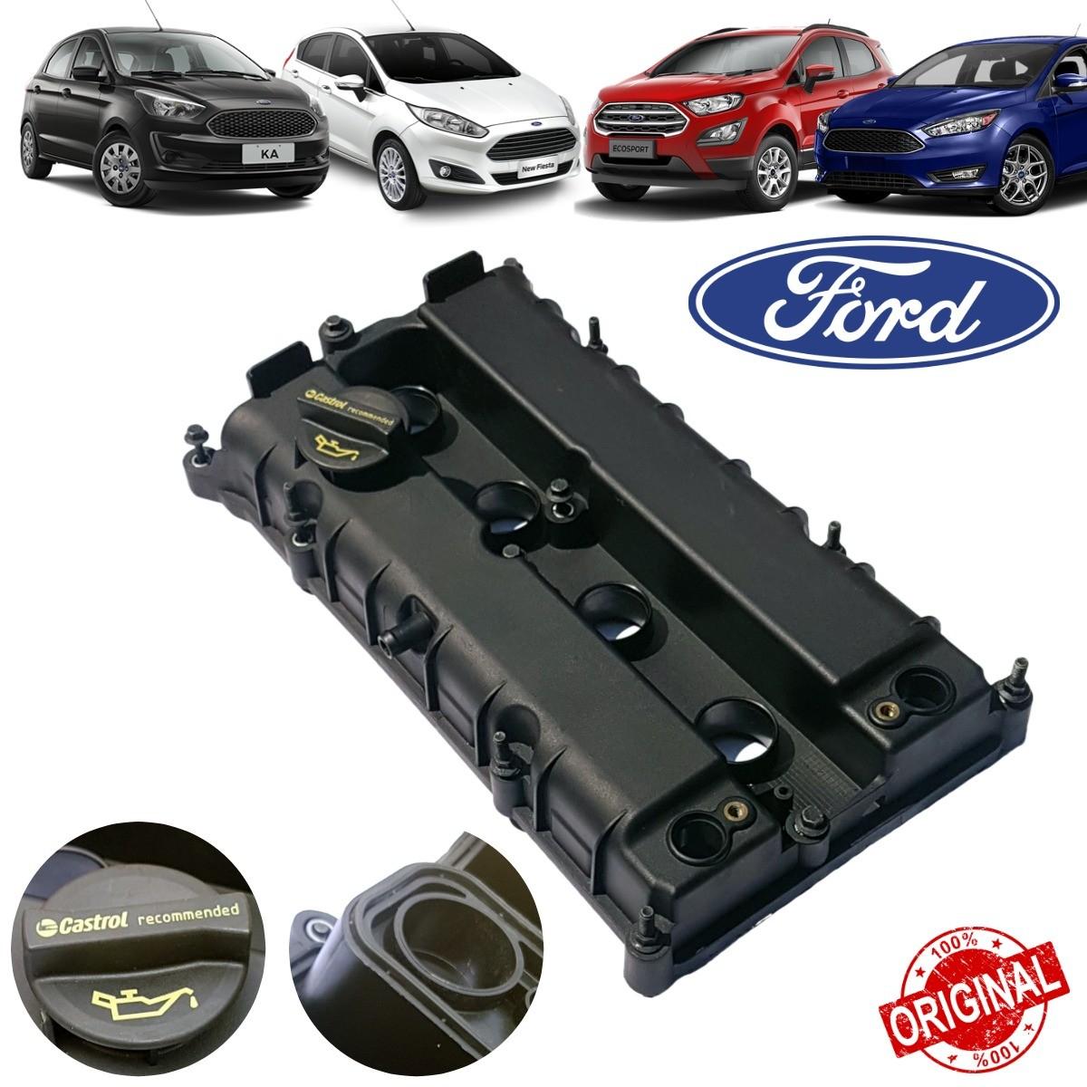 Tampa Válvulas do cabeçote Motor Ford Sigma Fiesta, Focus, Ka, Ecosport - Original