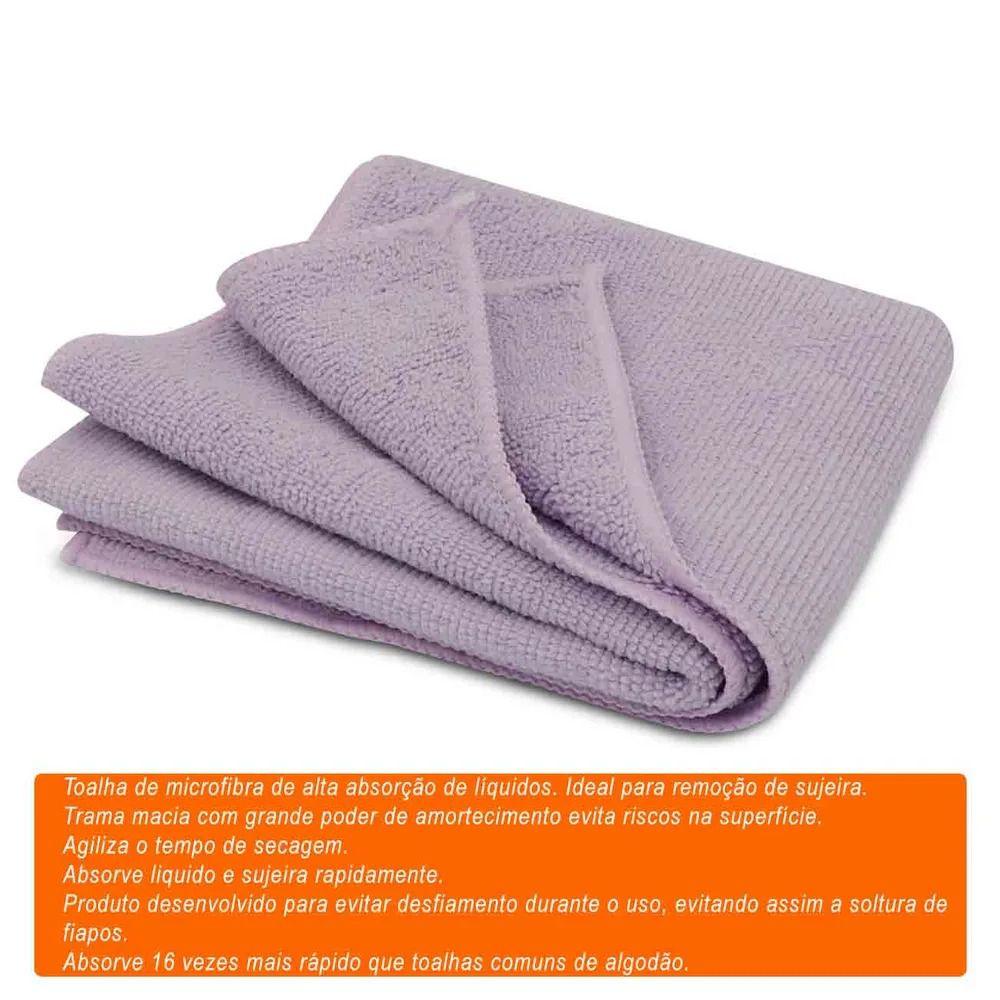 Toalha Microfibra Soft99 Super Cloth De Alta Absorçao 30x50cm