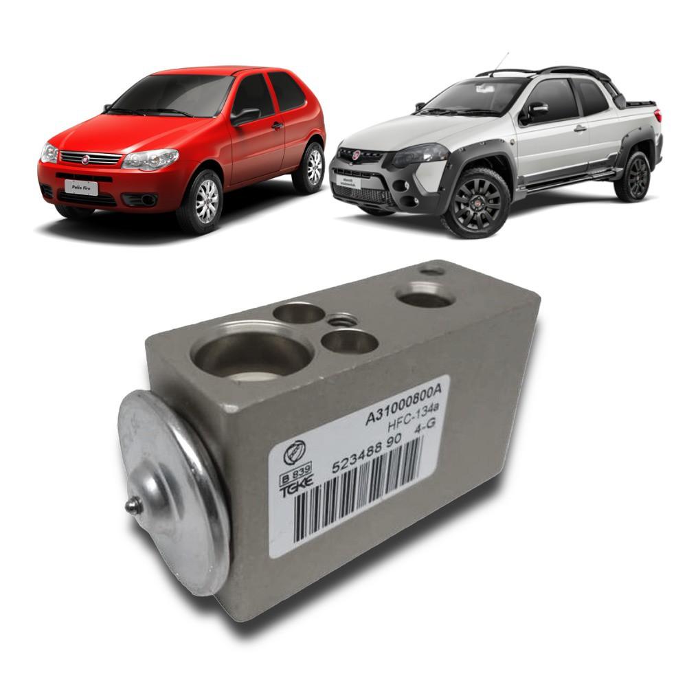 Válvula de Expansão Fiat Fire: Palio, Fiorino, Uno, Mille, Doblô, Punto, Stilo - Denso