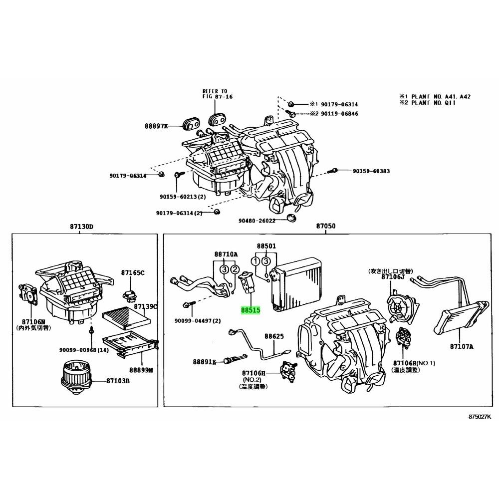Válvula de Expansão Toyota Corolla 2003-08 - Denso