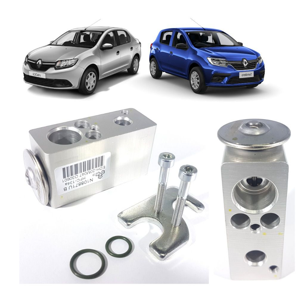 Válvula Expansão Bloco Renault Sandero / Logan 922708471R - Valeo