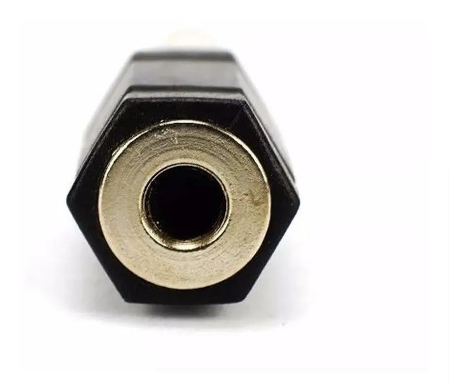 Adaptador de Áudio Caixas e Som e Auxiliar P10 Macho para P2 Fêmea